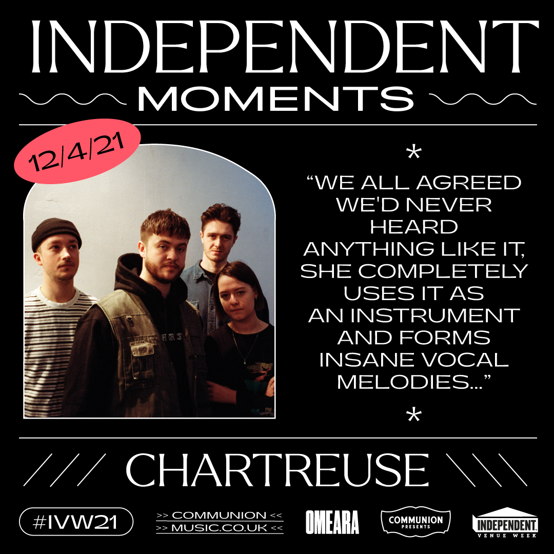 Chartreuse Indepedent Moments