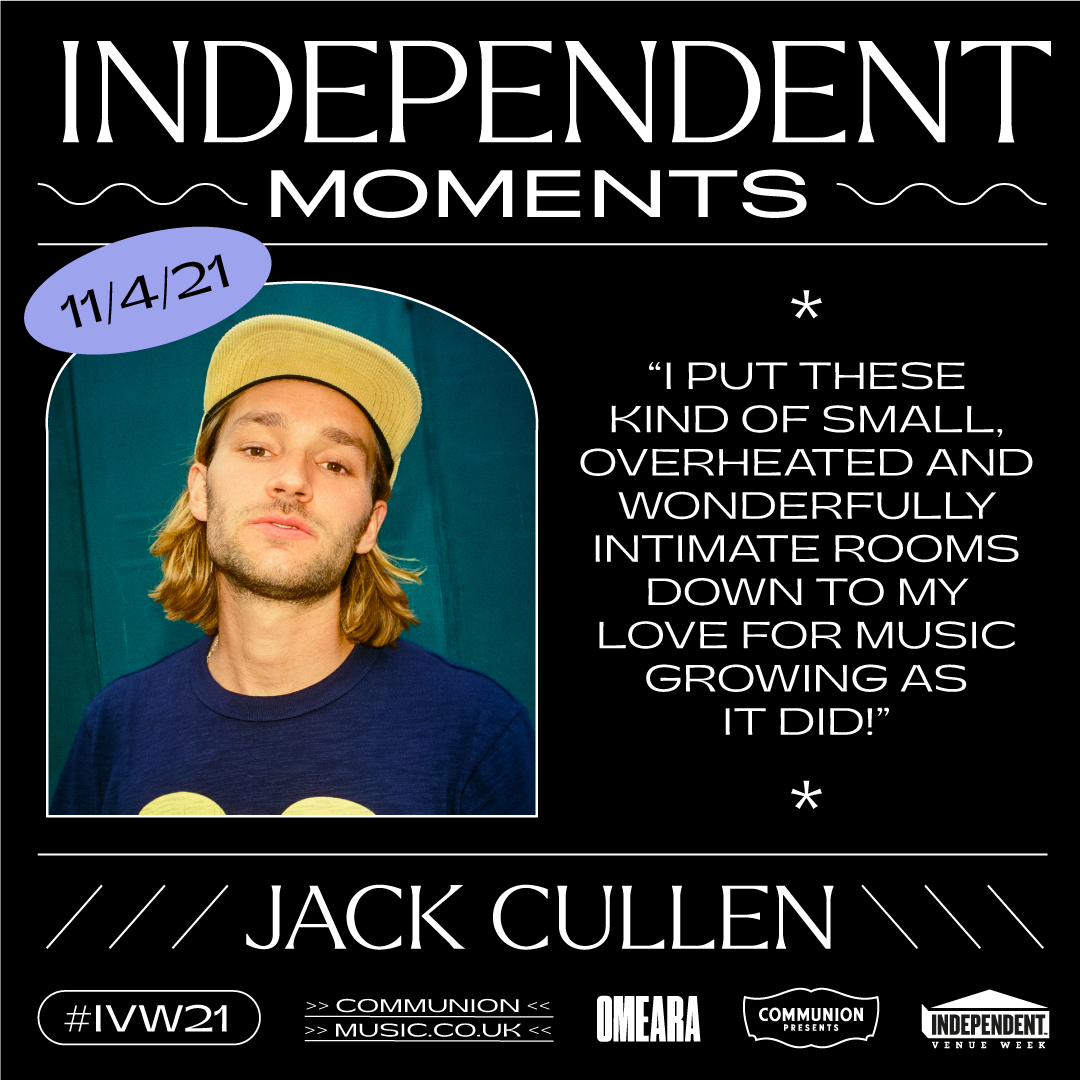 Jack Cullen Independent Moments